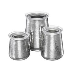 Stainless Steel Kitchen Canister Set Image