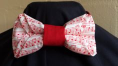 Unique Trifold Origami Unisex Bowtie Music Theme by NoveltyBowTies on Etsy
