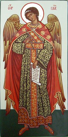 icon of the Archangel Gabriel #icône