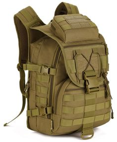"""Main Material: Nylon Size: H: 19"""" L:12"""" W:9.1"""" Interior: This Ranger inspired backpack has three separate compartments. The first of which is equipped with a padded laptop sleeve. This sleeve is compo"""