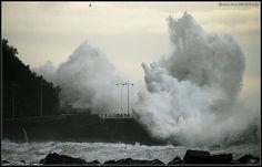 Spain. Cantabrian sea storm in San Sebastian-Donostia  | Flickr Jose Juan Gurrutxaga