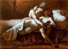 Theodore Gericault - The Kiss [1822]