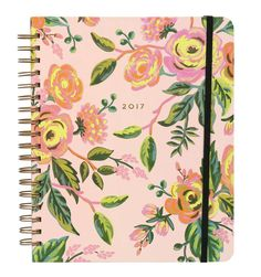 2017 Jardin de Paris A new large format design featuring a hard cover and metallic spiral binding