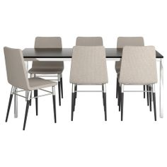 TORSBY/PREBEN Table and 6 chairs - IKEA
