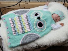 Ravelry: Owl Sleeping Bag #327 by ShiFio's Patterns