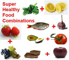 Super healthy food combinations ( there goes chocolate again!) ;)