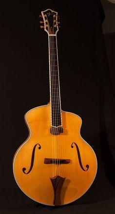 "Bartok 17"" NYC archtop guitar"