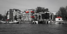 Amsterdam Amstel river by lesARTicles on Etsy