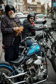 Bikers.  The more we strive for individuality, the more we look alike.