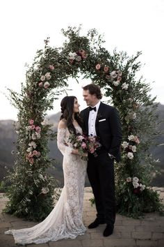 We Can't Decide Which We Love More – The Elegant Opulence or Epic Views in This Malibu Rocky Oaks Wedding Sabina and Carson's marriage ceremony at Malibu Rocky Oaks had views for days and a classy fashion that can blow your thoughts! The vineyard venue. Sheer Wedding Dress, Wedding Day Inspiration, Affordable Wedding Dresses, Elegant Wedding, Rustic Wedding, Lace Wedding, Wedding Designs, Bridal Dresses, Wedding Ceremony