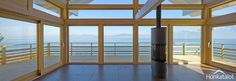 Modern post & beam home - www.honkatalot.fi