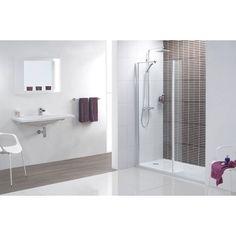 Minimalist Walk in Recess Shower Pack 1400 x 900 £279