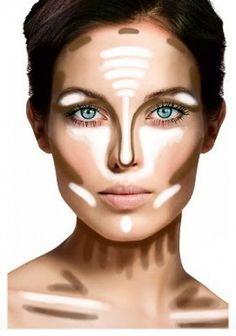 💄 Makeup Hacks You Need To Know - Contouring - Eyeliner . - - 💄 You NEED To Know - Contouring - Eyeliner makeup hacks contouring - Makeup Hacks Makeup Tips Contouring, Makeup Hacks Concealer, Makeup Tips Eyeshadow, Face Contouring, Highlighter Makeup, Contouring And Highlighting, Eye Makeup, Makeup Tricks, Prom Makeup