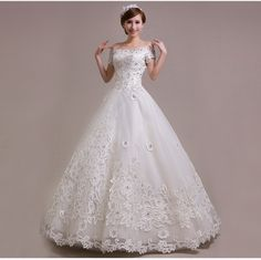 Find More Wedding Dresses Information about 2015 new hot sale Short sleeve simple  elegant  beach vintage sweetheart  lace plus size white wedding dress strapless,High Quality wedding bell place card holder,China wedding dress short front long back Suppliers, Cheap wedding dress shipping box from Playful beauty department store on Aliexpress.com