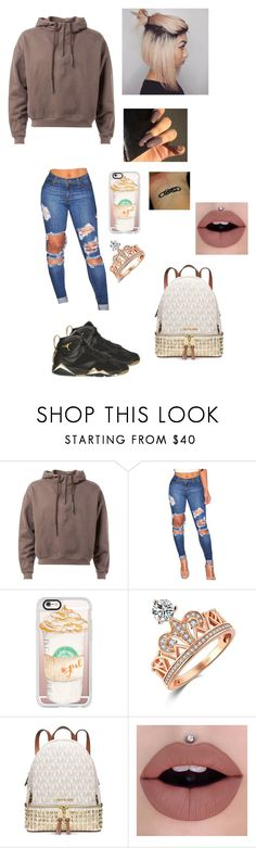 """""""Chillin"""" by yogurl-riyaa ❤ liked on Polyvore featuring Retrò, Casetify and Michael Kors"""
