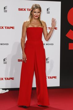 Cameron Diazs (Very) Bright Red Jumpsuit: Fab Or Fail?