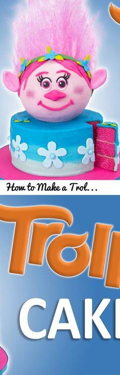 How to Make a Trolls Cake with Edible Hair from Cookies Cupcakes and Cardio... Tags: trolls, trolls movie, troll, trolls cake, poppy troll, dreamworks, dreamworks animation, dreamworks movies, kids cake, trolls 2016, branch troll, guy diamond troll, wim troll, happy birthday cake, cupcakes, how to make cake, cake, fondant, birthday cake, cake decorating, cake designs, cakes, birthday cakes, cake recipes, cupcakes and cardio, cookies cupcakes and cardio, jenn johns, poppy cake, poppy, edible…