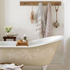 Natur-Badezimmer Wohnideen Badezimmer Living Ideas Bathroom