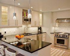 Best Granite Colors For White Cabinets Black Granite Contemporary Kitchen  Ideas