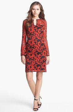 Diane von Furstenberg 'Gadie' Lace Shift Dress available at #Nordstrom