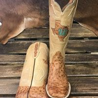 bdccc40e8 Custom Ostrich Black Jack Boots. Made in USA!! #OstrichBoots  #CustomMadeBoots #MuleBarn #TexasInlay #BeautifulBoots
