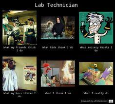 lab tech