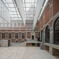 The New Rijksmuseum - Amsterdam, Нидерланды - 2013 - Cruz y Ortiz Arquitectos