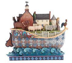 Jim Shore Heartwood Creek Williamsburg Noahs Ark Figurine
