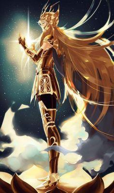 Whatsapp a la Saint Seiya 2 - Happy Birthday - Wattpad Art Anime, Manga Art, Manga Anime, Virgo, Knights Of The Zodiac, Character Art, Character Design, Anime Comics, Sword Art