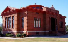 The Phoenix AZ Carnegie Library opened in 1902.  It now serves as the Carnegie Center, a multi-service center which includes the Arizona State Library.