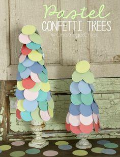 Pastel Confetti Tree