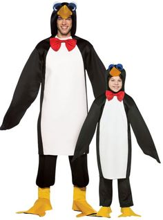 Penguin Daddy and Me Costumes - Party City To cute! I want this....