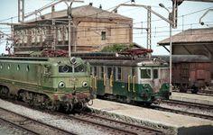 TrainScape: Diorama basado en Vadollano. 56 Model Train Layouts, Model Trains, Military Vehicles, Scenery, Spain, World, Miniature, Models, Cars