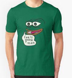 Feels Good man Pepe the frog T-shirt:http://shrsl.com/?bfsn