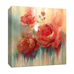 Make this amazing breathtaking floral image part of your home decor. The image holds a delicate yet dazzling beauty that you will absolutely love to have. The image will look great anywhere you place it. Canvas Wall Art, Canvas Prints, Canvas Fabric, Painting Prints, Art Prints, Detail Art, Stencil Art, Flower Art, Wrapped Canvas