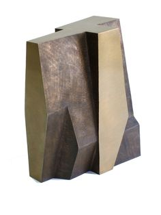 Morgan Shimeld, Abstract construct 22 x 17 x 11 cast bronze