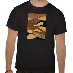 Greyhound Dog Abstract Art Design T-shirt #greyhounds #dogs #art #shirts #abstract And www.zazzle.com/petspower*