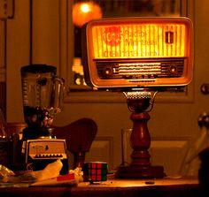Lamp Radio 101.5 FM by Joannie Larue.