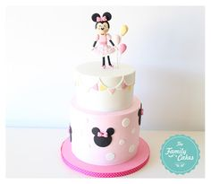 Minnie Pink Cake |  Bolo da Minnie| Bolo Rosa Minnie
