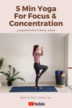 Short yoga sequence you can do without a yoga mat to improve focus, concentration and productivity Yoga Meditation, Yoga Flow, Yoga Routine, Yoga For Concentration, How To Improve Concentration, Free Yoga Videos, Fitness Bodybuilding, Yoga Poses For Beginners, Yoga Poses For Men