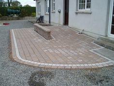 Paved Wheelchair Ramp