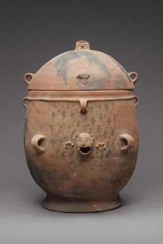 K'iché burial or cache urn lid, Maya, A.D. 650–850 - Object Place, Southern Highlands, Guatemala | Museum of Fine Arts, Boston