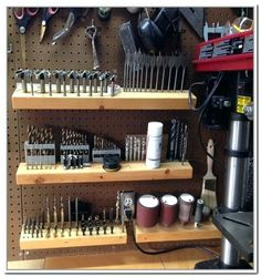 Image result for drill bit storage