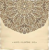 Vintage parchment Valentine card Vector Art Eps Vector, Vector Art, Free Photographs, Royalty Free Photos, Art Images, Clip Art, Tapestry, Animation, Illustration