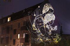 Outdoor art installation by Armsrock, Copenhagen DK 2010