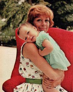 Carol Burnett and daughter Carrie