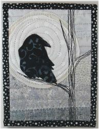 quilted raven card
