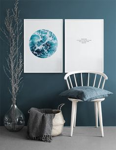 Sea Foam Circle, Poster in the group Posters & Prints / Nature at Desenio AB Decor Room, Diy Home Decor, Wall Decor, Inspiration Wand, Home Decor Inspiration, English Cottage Interiors, Wall Design, House Design, Art Prints For Home