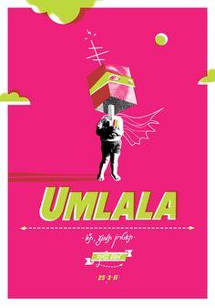 Umlala poster by Dekel Hevroni