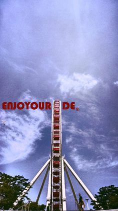 Broaden your circle.  Life's a roller coaster. Don't remain seated. @ENJOYOURIDE #EYR  Photo credit: @mangojuicemille